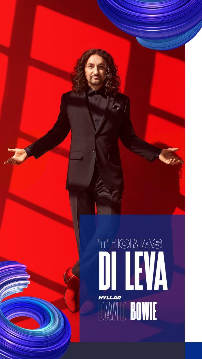 Artistkort – Framsida – Thomas Di Leva